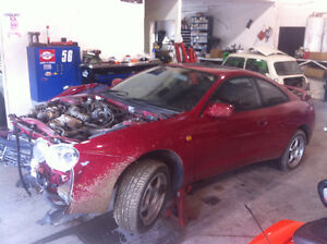 PARTING OUT JDM 1994 TOYOTA CELICA GT-FOUR TURBO AWD 3SGTE