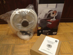 hometrends MINI OSCILLATING DISH HEATER 15500