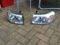 Ford Transit head lights