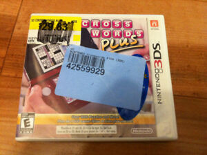 (NEW)  Nintendo 3DS Crossword Plus