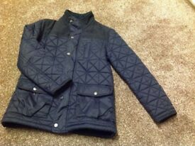Boys quilted coat age 11-12 yrs