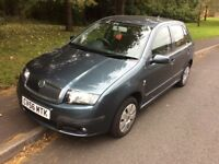 2006 Skoda Fabia 1.2 Ambiente-12 months mot-service history-1 previous owner-great value