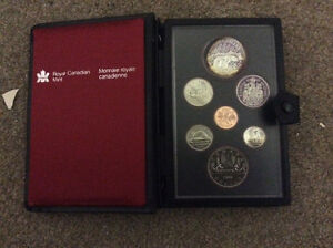Royal Canadian Mint 1980 Coin Collection