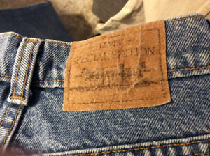 3 pairs LADIES LEVI JEANS - (Vintage) about 20 years old
