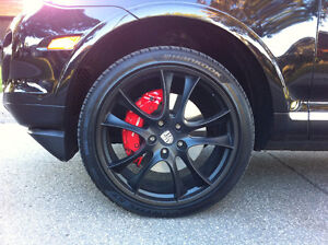 TIRES AND RIMS FOR PORSCHE CAYENNE OR SIMILAR SUV