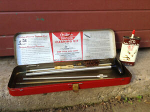 Vintage Shotgun Cleaning Kit