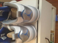 Jordan's blue n white Brand New with Box