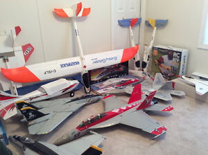 R/C Electric Aircraft - Trainers, Gliders, and EDF Jets