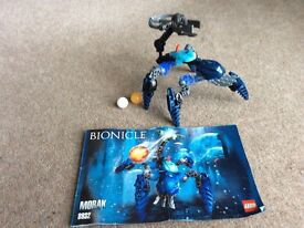 Lego small bionicle blue