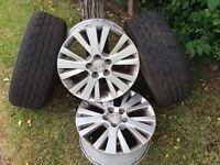 "Mazda 17"" alloy wheels"