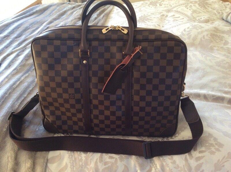 21b5f767c156 Louis Vuitton unisex briefcase   business bag brand new