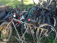 lots of bikes and parts must go