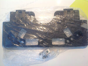 Genuine OEM Mitsubishi Evo X Side Mount License Plate Bracket Peterborough Peterborough Area image 1