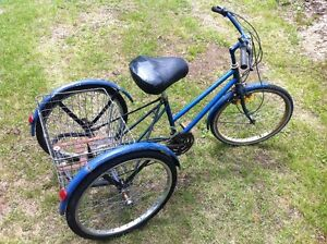 Vélo Tricycle trois roues