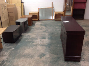 Used..Coffee tables, end tables, bookcases, storage shelving....