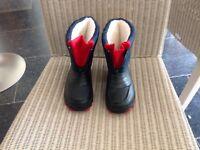 Children's snow boots size 28 (Planet)