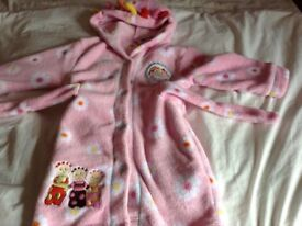In the Night Garden dressing gown age 2-3 years