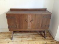 Lovely farmhouse style solid sideboard by Berick furniture