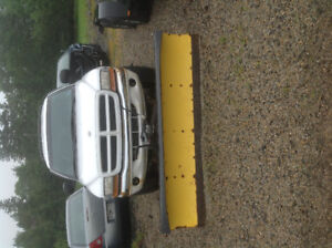 PARTING OUT ONLY, 2000 DURANGO SLT WITH PLOW