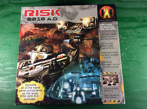 Risk 2210AD Boardgame in Good and Complete Condition