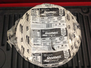 Romex electrical wire 75 m of 14/2