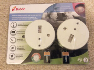 Kidde smoke alarms for sale !!