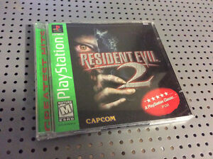 Resident Evil II Greatest Hits Edition