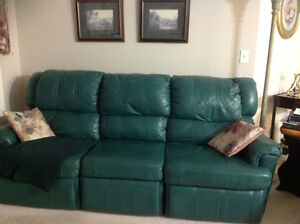 Chesterfield and Swivel Rocker Recliner