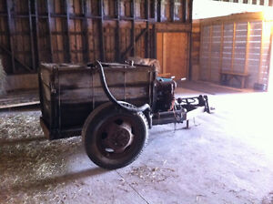 Antique (Circa 1940) Wooden Tank Sprayer - $500 CASH
