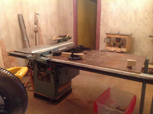 Trade delta unisaw 3hp tablesaw for bandsaw