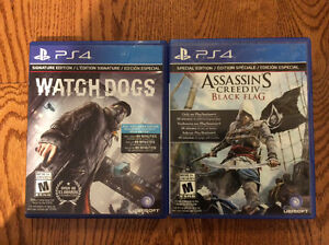 Watch Dogs et Assassin's Creed Black Flag