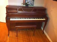 Mason and Risch Apartment Size Piano