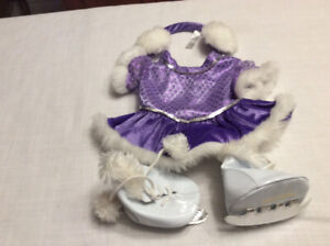 Figure Skating Build-a-Bear outfit.