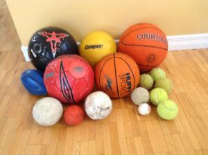 ballons multi-sports pour le lot