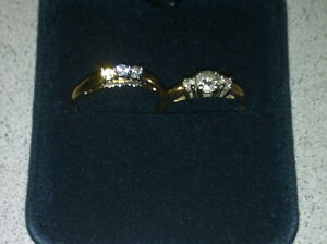 Wedding/Engagement ring new in box never used match set