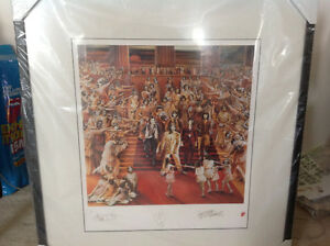 Rolling Stones Framed It's Only Rock 'N Roll Numbered Lithograph Oakville / Halton Region Toronto (GTA) image 1