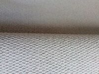 "NEW Pale Grey 80% Wool Carpet Remnant 6'6""x 12'11""; / 2m x 3.96m approx"