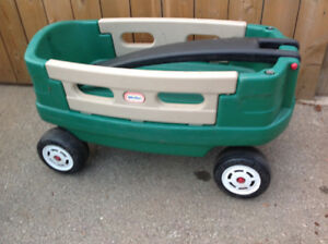 "large size ""Little Tikes"" child's wagon"
