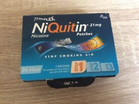 24 hour nicotine patches.