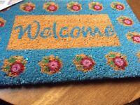 Doormat Vintage 'Welcome' Design (New)