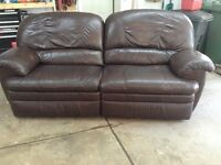 Couch and recliner set