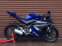 Yamaha YZF R125 2014. Only 6272miles. Delivery Available *Credit & Debit Cards Accepted*