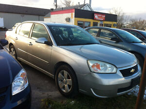 2007 Chevrolet Malibu Sedan SAFETY +ETEST $3700 +HST
