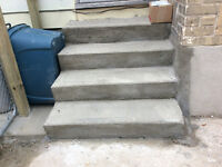 CONCRETE PORCH TOPS AND STEPS MADE NEW AGAIN