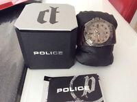 Montre Police Gear Men's Wrist Watch, Brown BON PRIX
