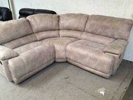 HARVEYS GUVNOR. Reclining corner sofa Ex Display Model