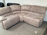 HARVEYS GUVNOR. Reclining corner sofa Ex Display Model