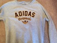 Immaculate Adidas grey sweater