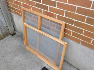 Framed Screens for DYI project