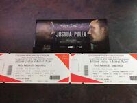 Joshua vs takam tickets x2
